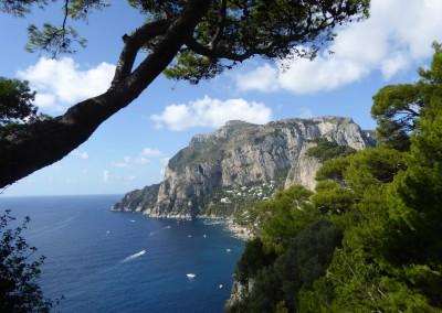 Capri, Blick von Anacapri