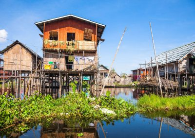 Inle Lake villages on the water©Romas Vysniauskas/Fotolia