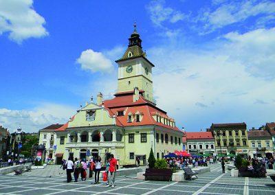 Brasov, Kronstadt - Rathausplatz mit altem Rathaus©Quality Tours