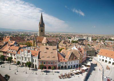 Panorama Sibiu (Hermannstadt)©Rumänien Tourismus